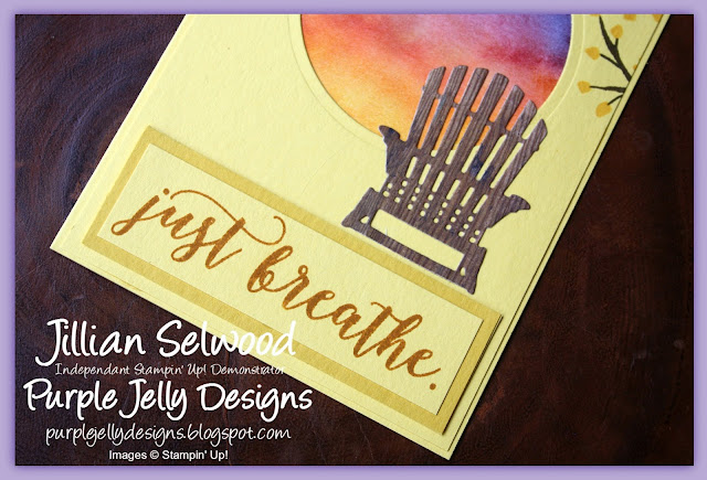 Just breathe, Colourful Season Stamp Set, Seasonal Layers Thinlit Dies, Wood Textures DSP Stack