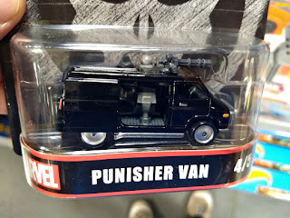 Hot Wheels Retro Entertainment Punisher Van