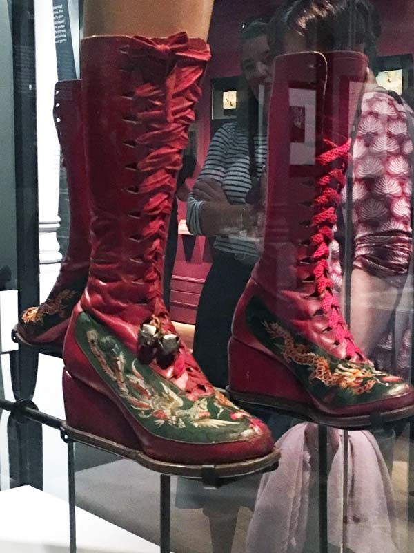 Frida Kahlo's support boots