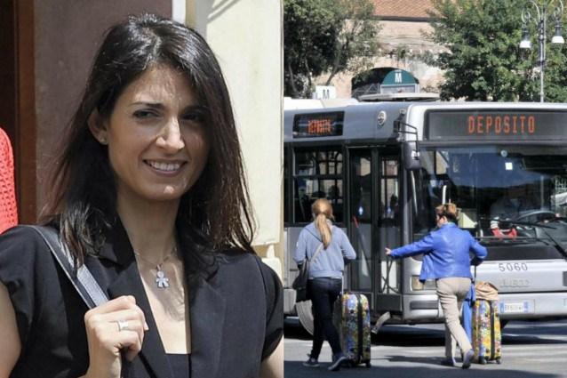 """Lercio! """"Mai più gente che non paga il blglietto"""" E la Raggi abolisce i trasporti pubblici"""