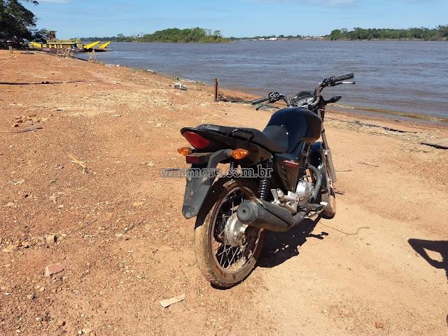 Unesfron recebe da Polícia Boliviana mais uma motocicleta furtada em Guajará-Mirim