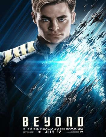 Poster Of Star Trek Beyond 2016 Dual Audio 350MB Web-DL 480p ESubs Free Download Watch Online downloadhub.net