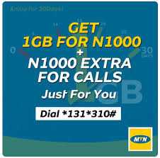 Update MTN May Awoof: Get 1GB Data And 1000 Airtime For N1000