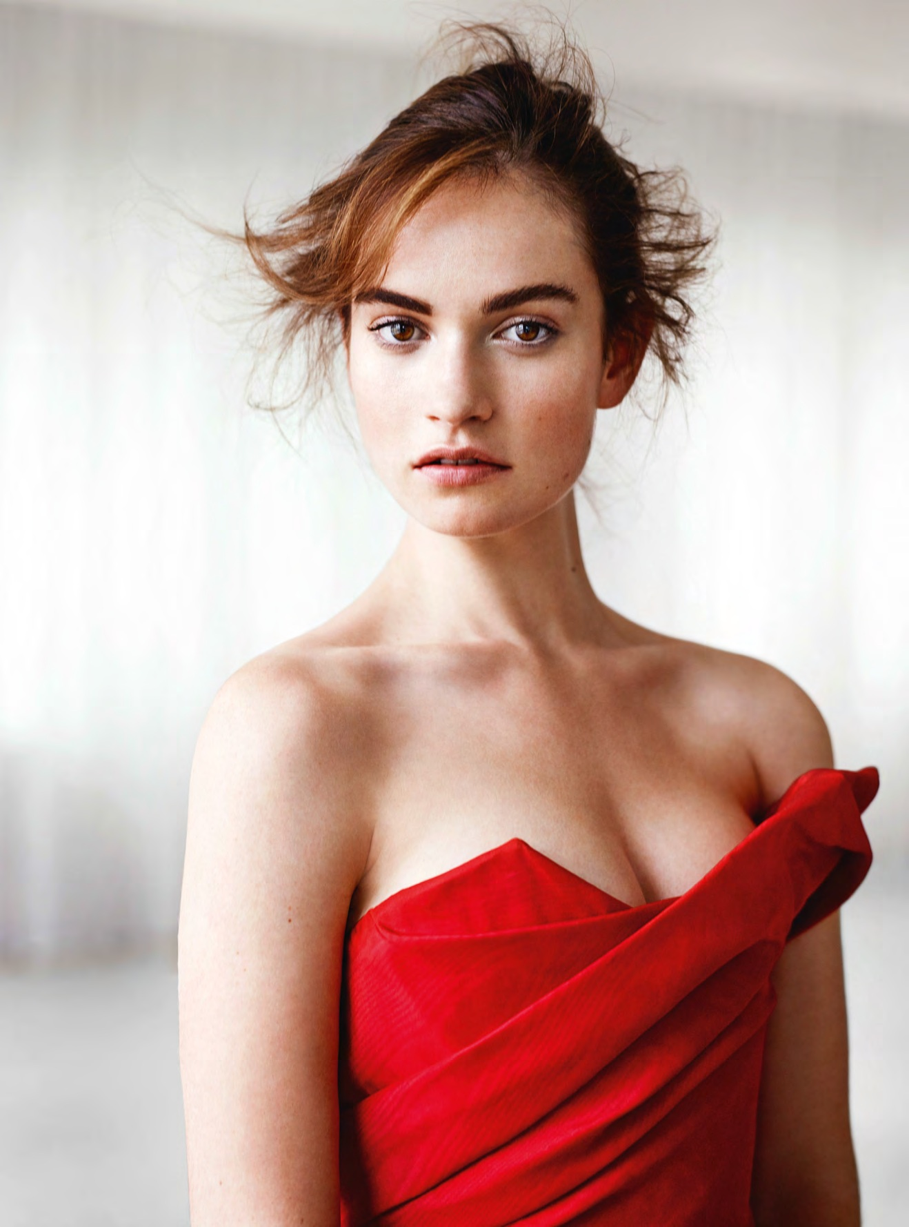 Lily james hot