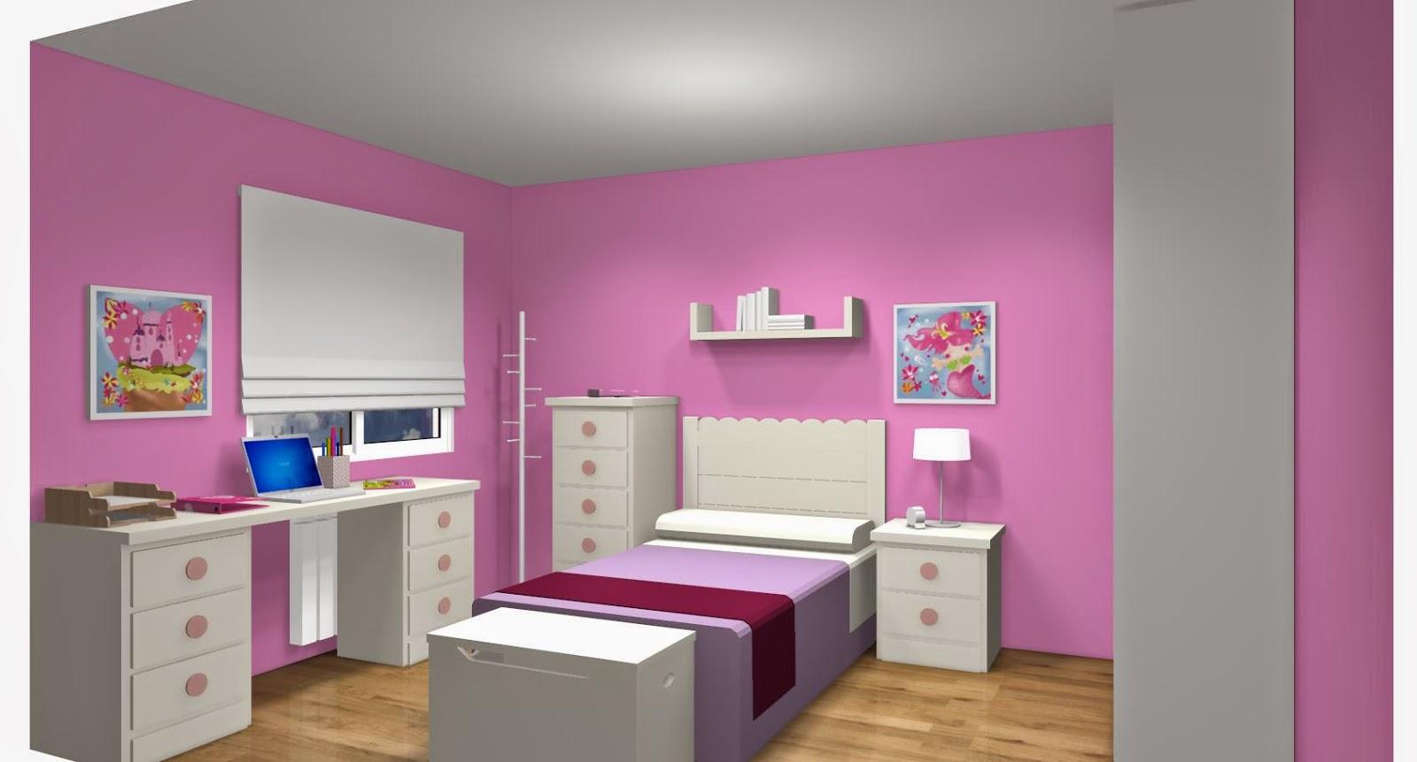 Dise o de cuartos o dormitorios juveniles - Habitaciones infantiles ninos 4 anos ...