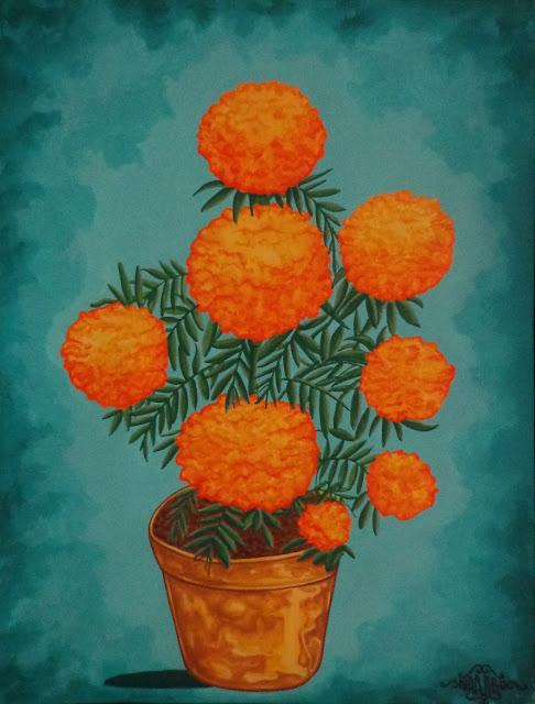 Flor de Muertos (Cempasúchil)
