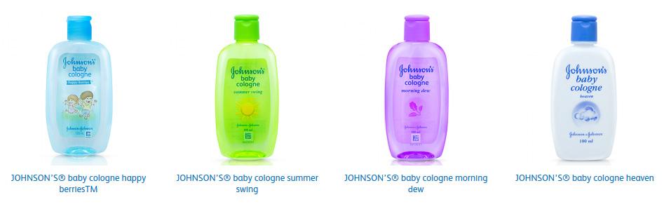 Johnsons Baby Cologne Pilihan Tepat untuk Sang Buah Hati