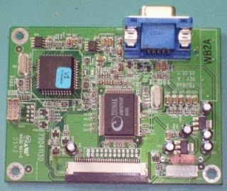Placa electrónica de monitor LCD ViewSonic VA702b
