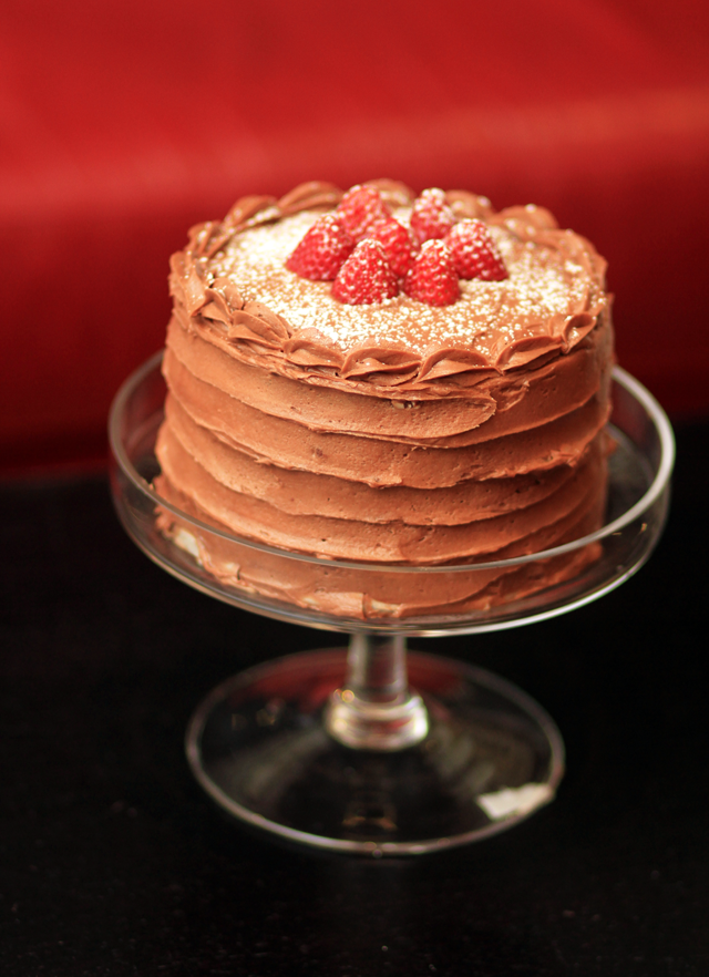 Strawberry Cake Supreme