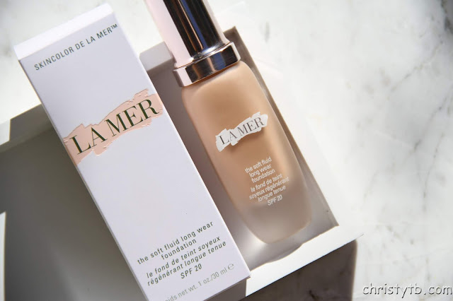 Тональный флюид La Mer the soft fluid foundation SPF 20 Sand 23