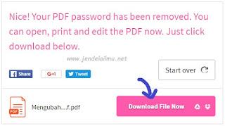Cara Mudah Membuka (Unlock) File PDF yang Terkunci