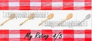 tammycookblogsbooks recipe rating 4/5