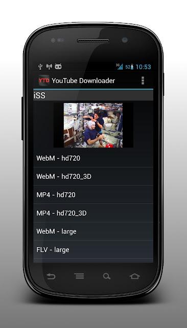 Aplikasi Android untuk download video dari YouTube