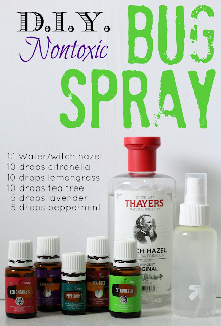 This DIY bug spray is easy to make, smells great and actually works!