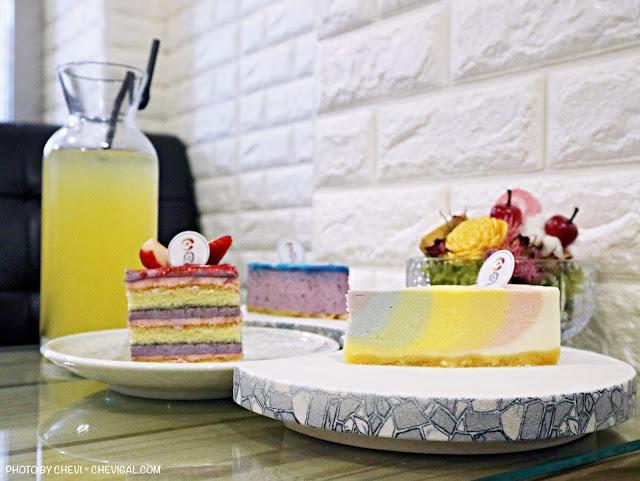 3 - 台中甜點│日月手工坊,美到捨不得吃!夢幻彩虹與星空讓你一次就能擁有!