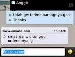Testimoni atas nama Anggit