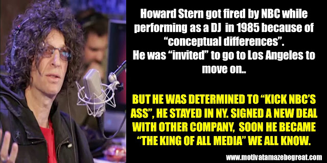 63 Successful People Who Failed: Howard Stern, Success Story, Fired, Comeback, NBC, DJ