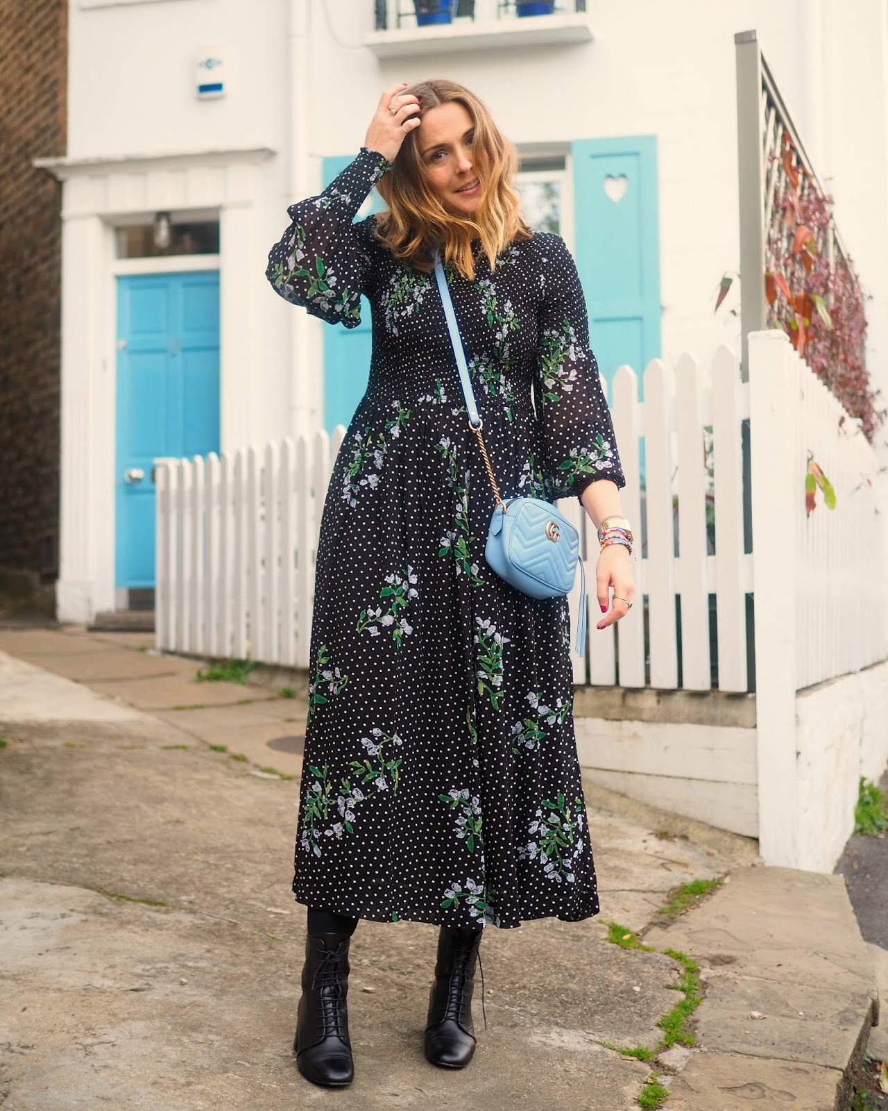 5f329caeba Not Another Ganni Maxi Dress | South Molton St Style | Bloglovin'
