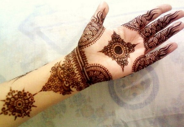 Pakistani Henna Designs For Hands