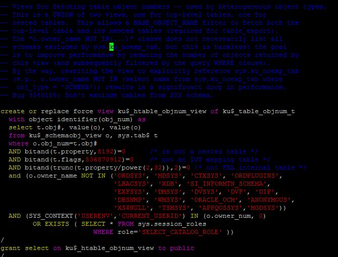 cloud blog: Hiding things from datapump