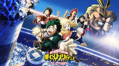 Boku no Hero Academia Movie: Futari no Hero Subtitle Indonesia