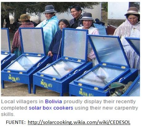 Cocina Solar Bolivia