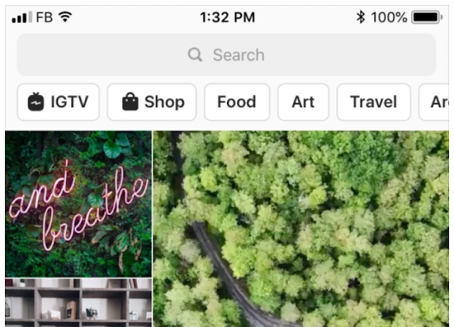 "Les Instagram Stories intègrent désormais la section ""Explorer"""
