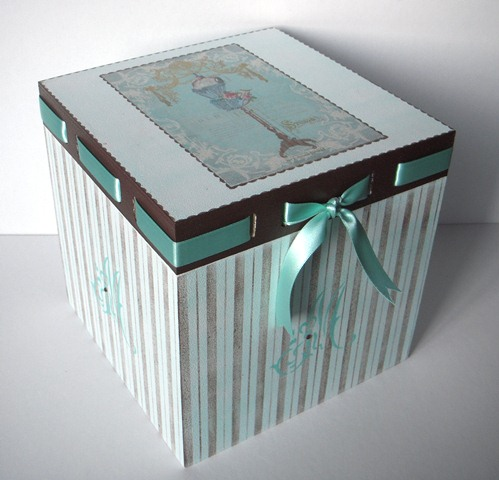 Les cosetes de dudu caja de madera french vintage - Manualidades con cajas de madera ...