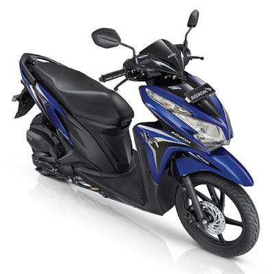 New 2016 Honda Vario 125 eSP blue color hd image