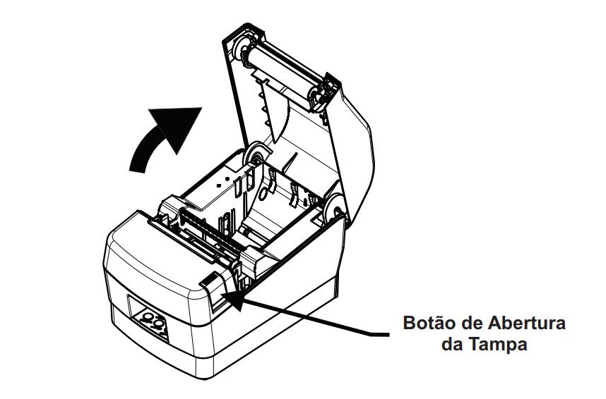 PDV Center: Como colocar bobina de papel na Impressora