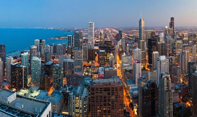 Como ir de Chicago à Nova York ou de Nova York à Chicago