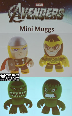 The Avengers Mini Mighty Muggs 2 Packs - Thor vs Loki & Hulk vs Abomination