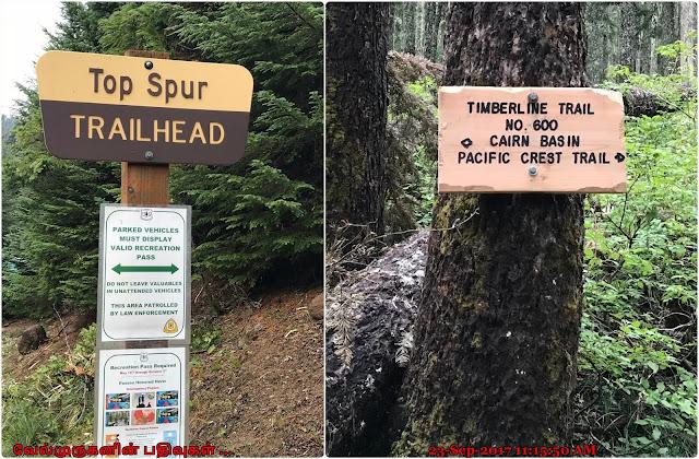 Top Spur Trail Head
