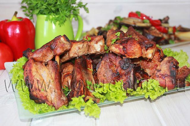 рецепт свиных ребрышек в ароматном маринаде