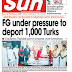 NAIJA NEWSPAPERS: TODAY'S THE DAILY SUN NEWSPAPER HEADLINES [23 OCTOBER, 2017]