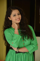 Geethanjali in Green Dress at Mixture Potlam Movie Pressmeet March 2017 076.JPG