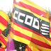 CCOO reclama una Catalunya inclusiva, plural i amb drets en la Diada de l'11 de Setembre