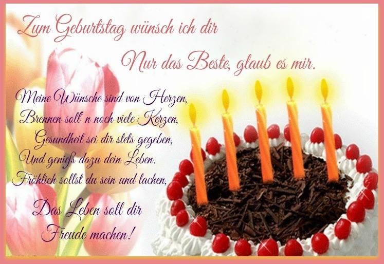 Zum Geburtstag Nur Das Beste Geburtstagsw252nsche Geburtstag