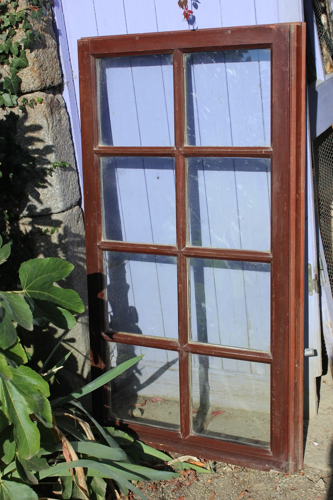 recuperated double-glazed window