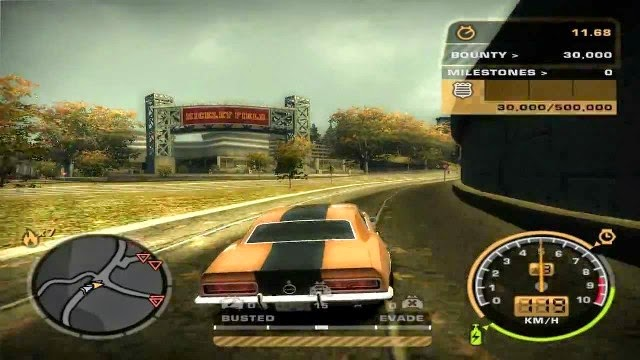 NFS Most Wanted Black Edition PC Gameplay