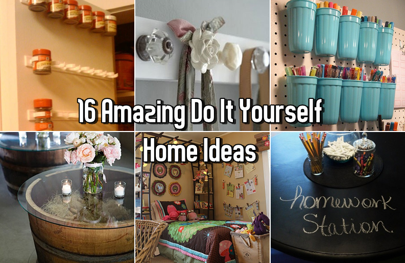 Amazing Do It Yourself Home Ideas