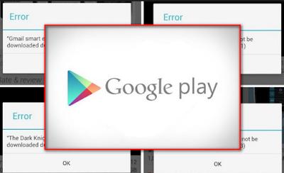 Cara Mengatasi Play Store Eror atau Hang