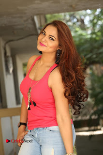 Tollywood Actress Ashwini Latest Stills in Ripped Jeans  0073.JPG