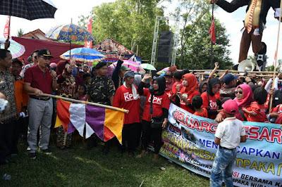 Zaiful Bokhari Lepas Karnaval Festival Desa Cempaka Nuban 2018
