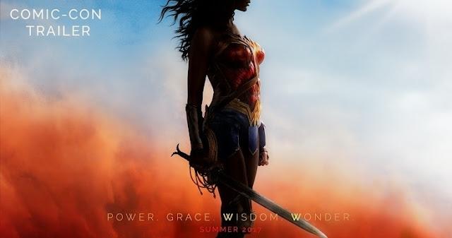 Wonder Woman estrena tráiler durante la Comic-Con