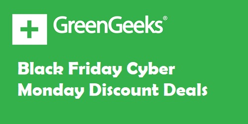 GreenGeeks Black Friday Deals