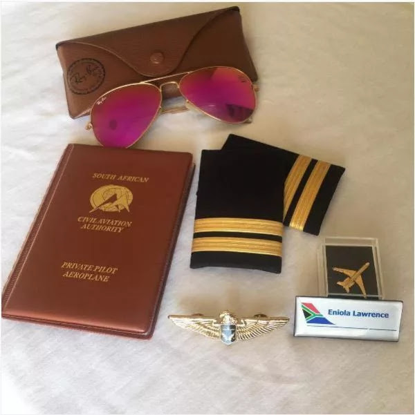 2013 MBGN Tourism Queen Lawrence Is Now A Pilot.