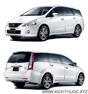 kich thuoc xe mitsubishi space wagon