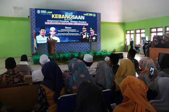 Kapolri Dan Panglima TNI Turut Ngaji Kebangsaan