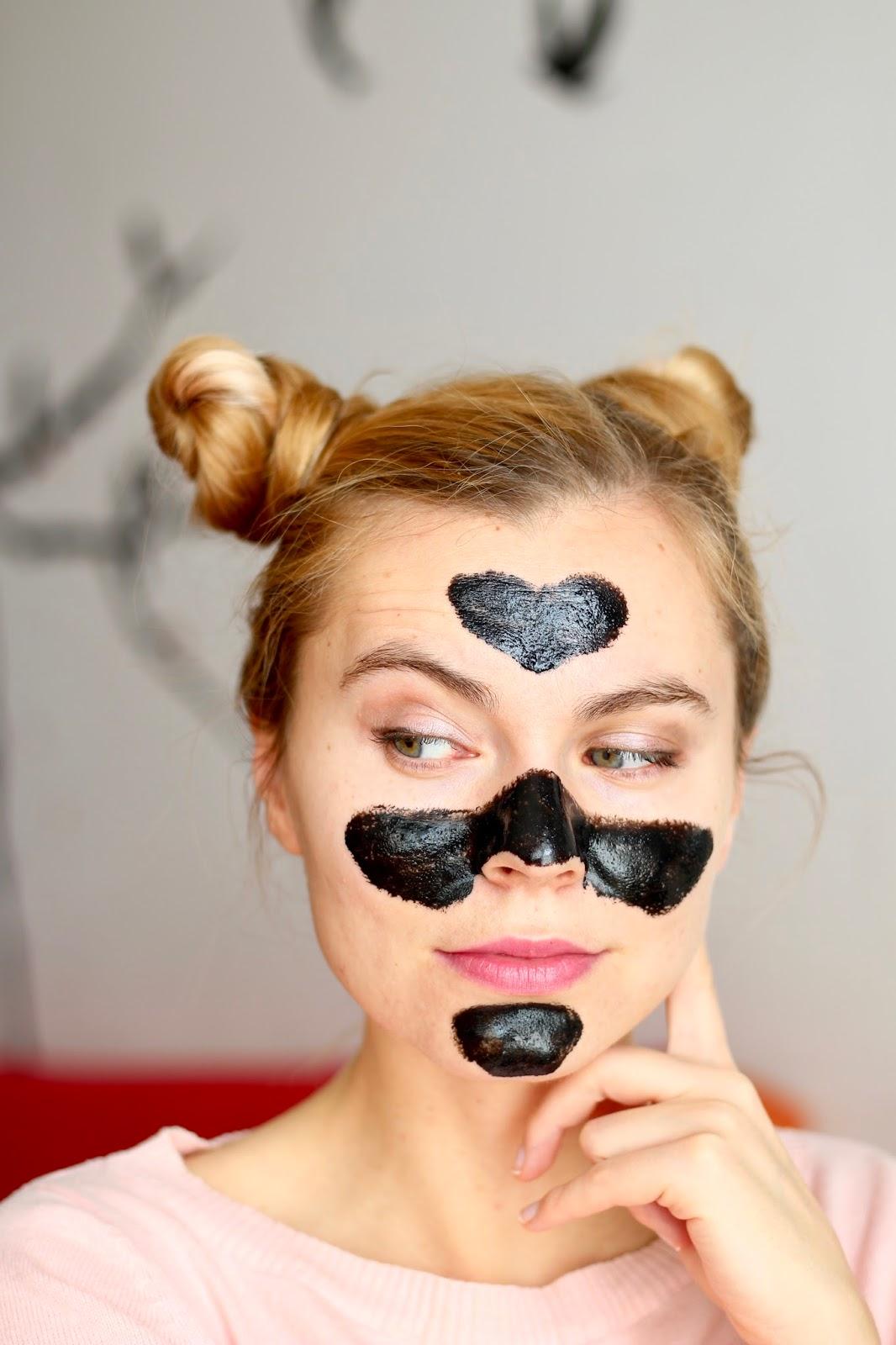 čierna maska na tvár PILATEN